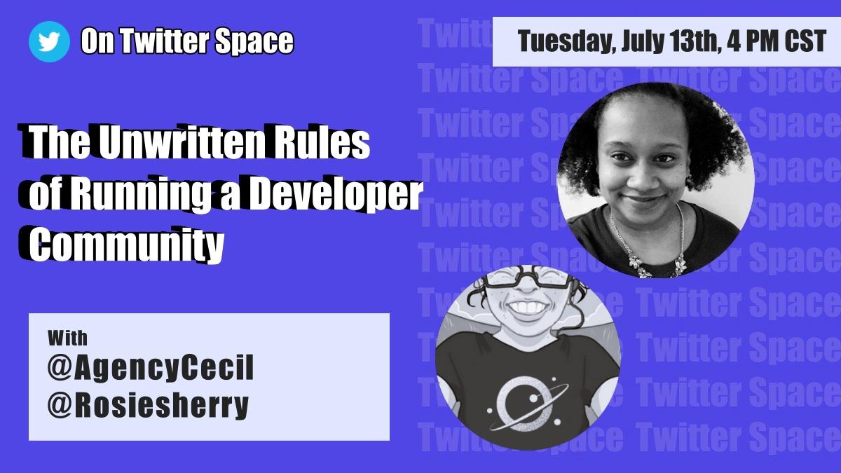 The secret to developer communities